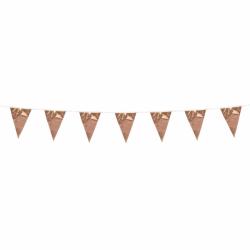 Vlaggenlijn mini rosé goud