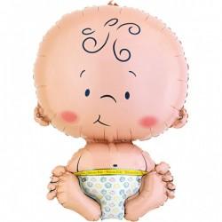 Folieballon baby jumbo