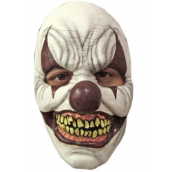 Masker latex Chomp Clown