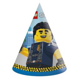 Feesthoedjes Lego City