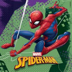 Servetten Spiderman Team Up