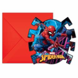 Uitnodigingen Spiderman Team Up