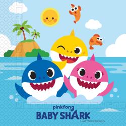 Servetten FSC Baby Shark