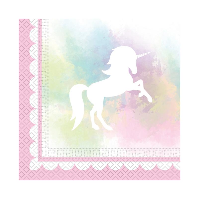 Servetten Believe in Unicorns