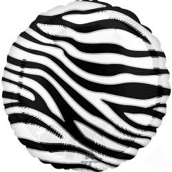 Heliumballon Zebra standaard