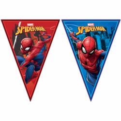 Vlaggenlijn spiderman team up