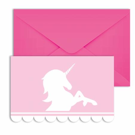 Uitnodigingen Believe in Unicorns