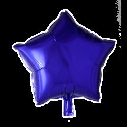 Heliumballon ster paars standaard