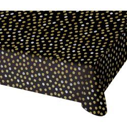 Tafelkleed Glossy mat zwart