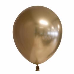Ballon chroom goud