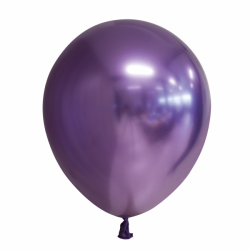 Ballon chroom paars