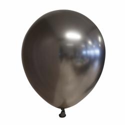 Ballon chroom grey