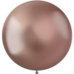 Ballonnen chroom rosé goud 48 cm