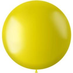 Ballon 78 cm metallic Zesty Yellow