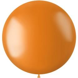 Ballon 78 cm metallic Mariogold Orange