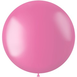 Ballon 78 cm metallic Bubblegum Pink
