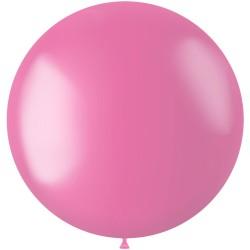 Ballon 78 cm metallic Bubblegum Pink