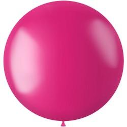Ballon 78 cm metallic Fuchsia Pink