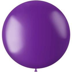 Ballon 78 cm metallic Violet Purple