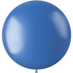 Ballon 78 cm metallic Royal Blue