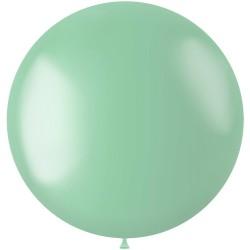 Ballon 78 cm metallic Minty Green
