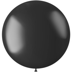 Ballon 78 cm metallic Onyx Black