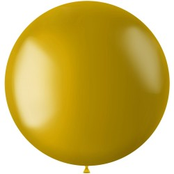 Ballon 78 cm metallic Gold
