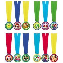Medailles Super mario