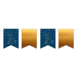Vlaggenlijn Elegant Blue 18