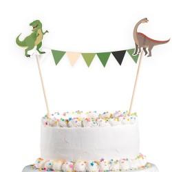 Taart decoratie happy Dinosaur