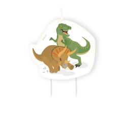 Kaars Happy Dinosaur