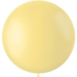 Ballon 78 cm Powder Yellow