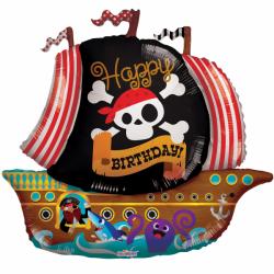 Heliumballon Piratenschip