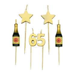 Party kaarsjes 65