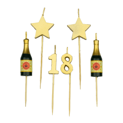 Party kaarsjes 18