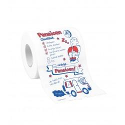 Toiletpapier Pensioen