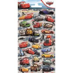 Cars stickers met glitters