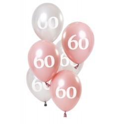 Ballonnen Glossy Pink 60
