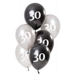 Ballonnen Glossy Black 30
