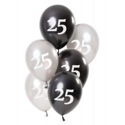Ballonnen Glossy Black 25