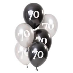 Ballonnen Glossy Black 70