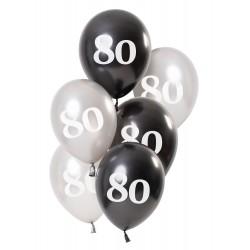 Ballonnen Glossy Black 80