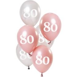 Ballonnen Glossy Pink 80