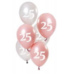 Ballonnen Glossy Pink 25