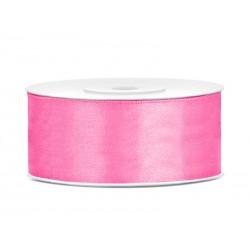 Satijnlint 25 mm roze