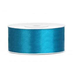 Satijnlint 25 mm turquoise