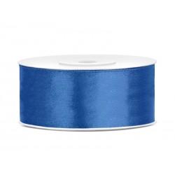 Satijnlint 25 mm blauw