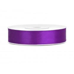 Satijnlint 12 mm paars