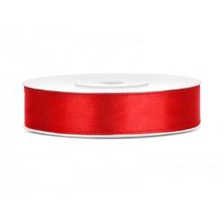 Satijnlint 12 mm rood