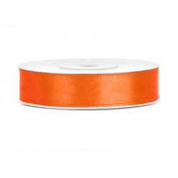Satijnlint 12 mm oranje